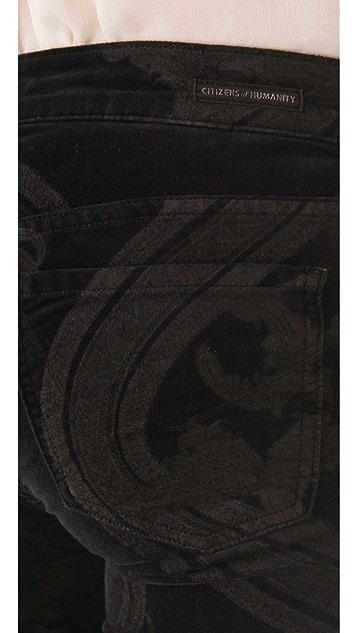 Citizens of Humanity Avedon Rococo Print Pants