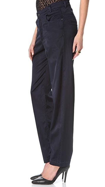 Citizens of Humanity Dixie Ritz Satin Pants
