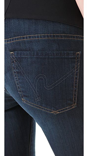 Citizens of Humanity Ava Straight Leg Maternity Jeans