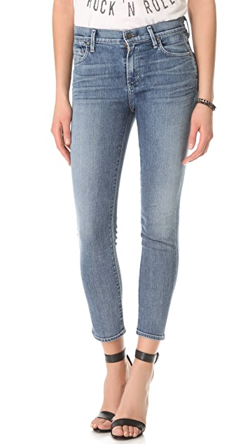 Citizens of Humanity Crop Rocket Skinny Jeans