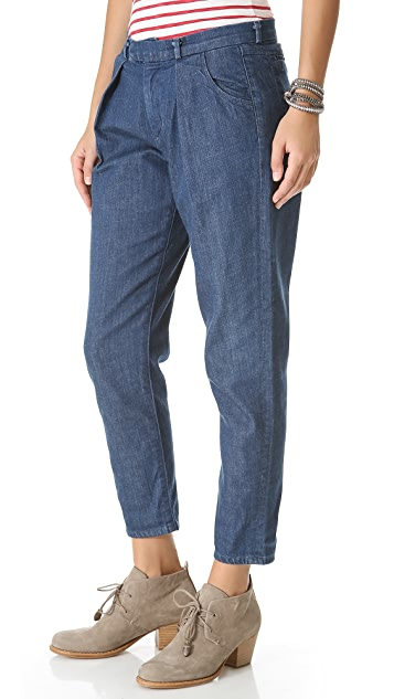 Citizens of Humanity Lilly Pleated Trouser Jeans