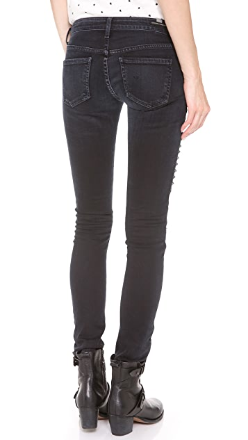 Citizens of Humanity Logan Moto Skinny Jeans