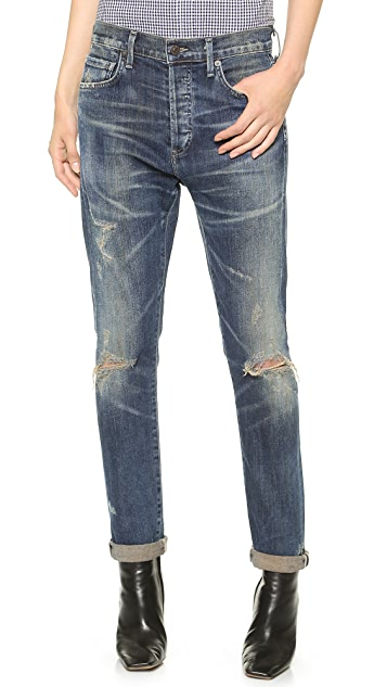 Citizens of Humanity Corey Straight Leg Ripped Jean