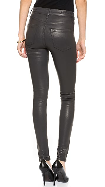 Citizens of Humanity Rocket Leatherette Coated Jeans