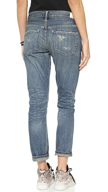 Citizens of Humanity Emerson Slim Boyfriend Ankle Jeans