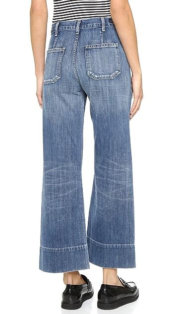 Citizens of Humanity Широкие джинсы Abigail с высокой посадкой