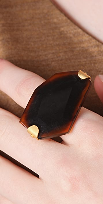 Citrine by the Stones Large Stone Ring