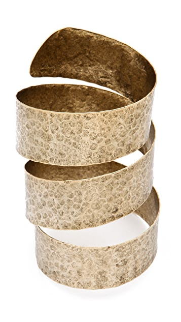 Citrine by the Stones Spiral Bracelet