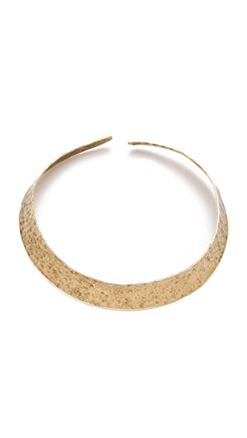 Citrine by the Stones Simple Collar Necklace