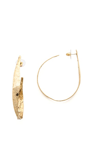 Citrine by the Stones Sol Hoop Earrings