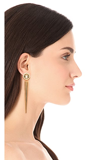 Citrine by the Stones Luz Pua Earrings
