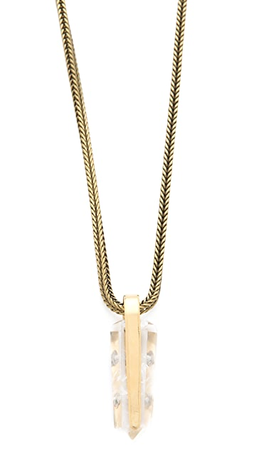 Citrine by the Stones Sio Small Pendant Necklace