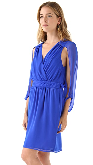 Charlie Jade Silk Chiffon Dress