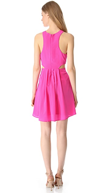 Charlie Jade Sleeveless Silk Dress