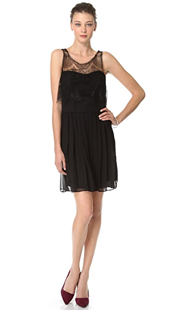 Charlie Jade Lace Mini Dress