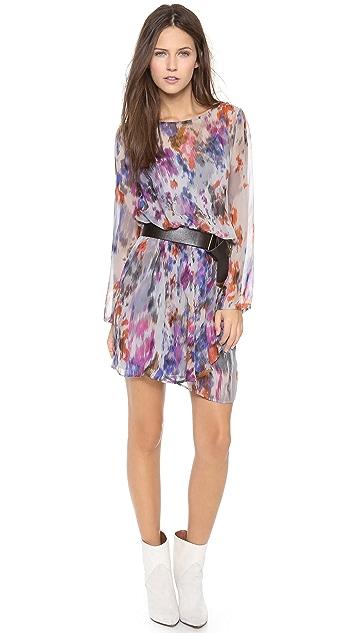 Charlie Jade Long Sleeve Printed Dress