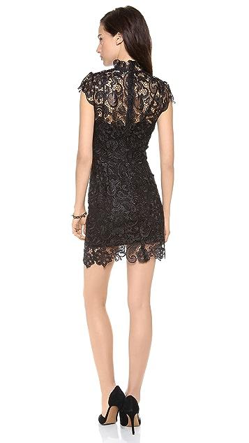 Charlie Jade Cap Sleeve Lace Dress