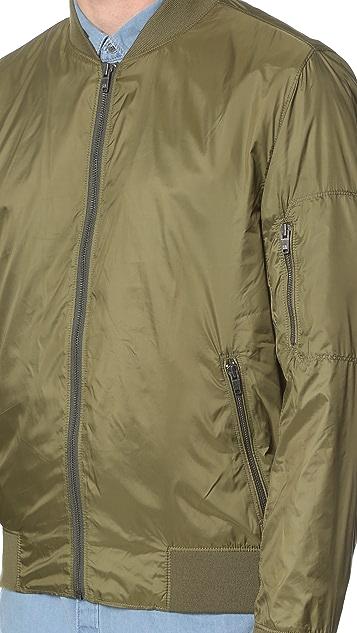 Calvin Klein Jeans Nylon Aviator Jacket