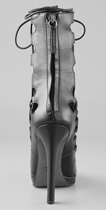 Christopher Kane Giuseppe Zanotti for Christopher Kane Tall Laced Booties
