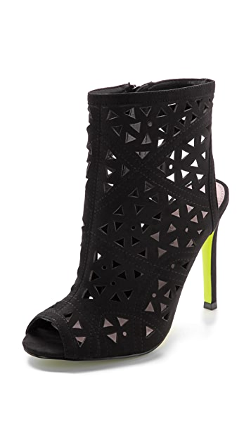 Carvela Kurt Geiger Gabby Perforated Booties