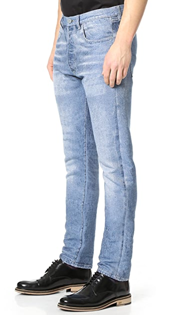 Calvin Klein Collection Landon Jacquard Jeans