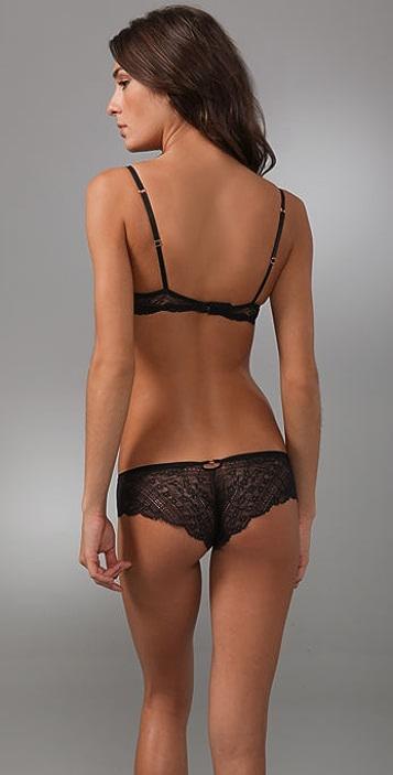 7cfef0eb33134 ... Calvin Klein Underwear Envy Lace Demi Bra ...
