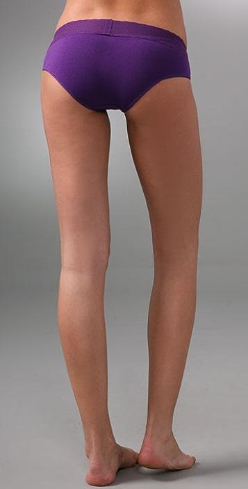 Calvin Klein Underwear Lace & Cotton Hipster