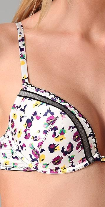 Calvin Klein Underwear Dutch Floral Push Up Bra
