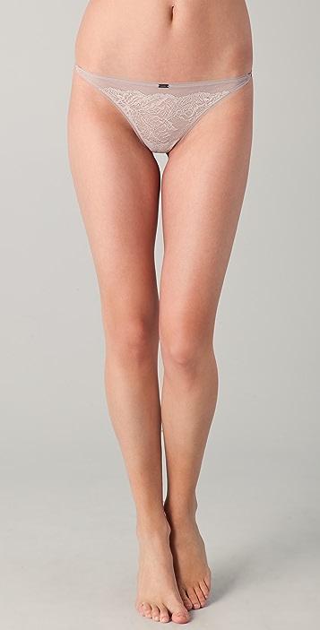 Calvin Klein Underwear Calvin Klein Black String Thong