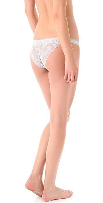 Calvin Klein Underwear Naked Glamour Tanga Briefs