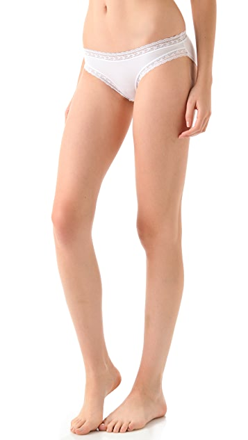 Calvin Klein Underwear Modal & Lace Bikini Briefs