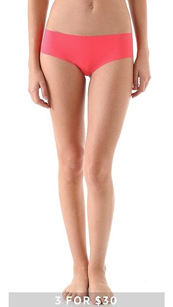 Calvin Klein Underwear Invisible Hipster Briefs