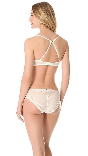 Calvin Klein Underwear Calvin Klein Black Underwire with Removable Padding Bra
