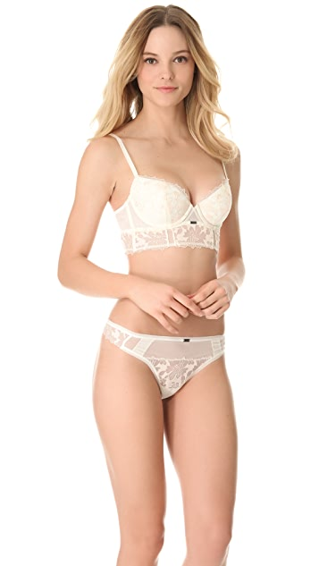 Calvin Klein Underwear Calvin Klein Black Longline Underwire Bra
