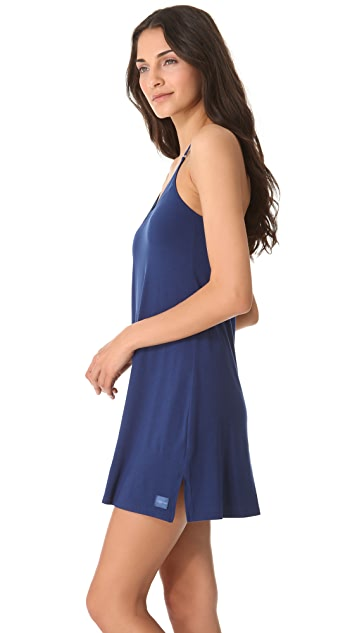 Calvin Klein Underwear Essentials Satin V Neck Chemise