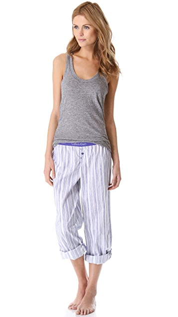 Calvin Klein Underwear Roll Up PJ Pants