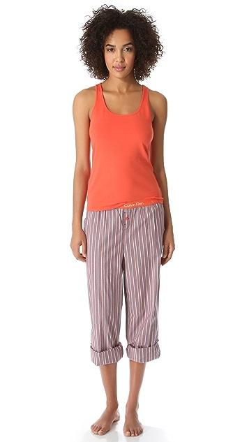 Calvin Klein Underwear Roll Up Pajama Pants