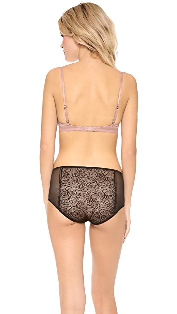Calvin Klein Underwear Icon Lace Provocative Plunge Bra