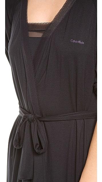 Calvin Klein Underwear Icon Long Robe