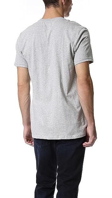 Calvin Klein Underwear 3 Pack Tricolor Crew Undershirts