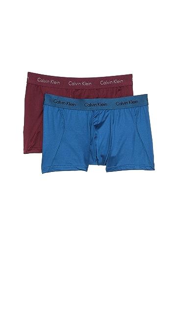 Calvin Klein Underwear 2 Pack Micro Trunks