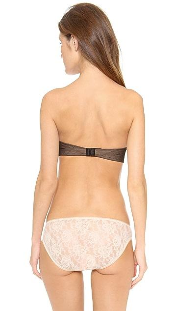 Calvin Klein Underwear Seductive Comfort Illusion Lift Strapless Bra