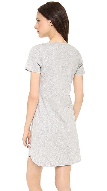 Calvin Klein Underwear Cotton Short Sleeve Nightshirt