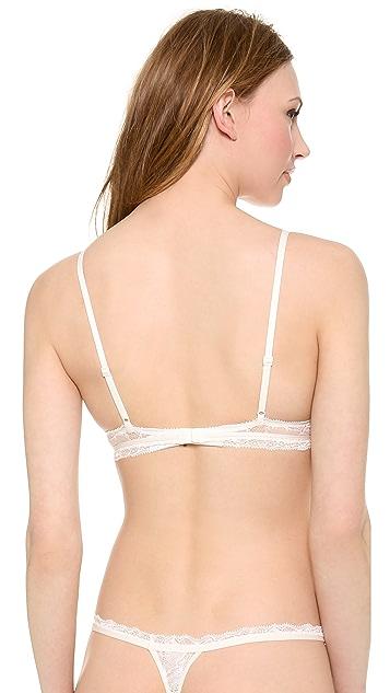 Calvin Klein Underwear Calvin Klein Black Triangle Bra