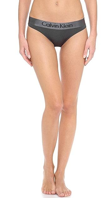 Calvin Klein Underwear Dual Tone Thong