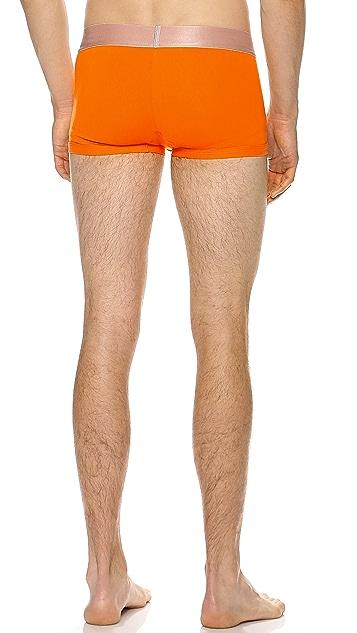 Calvin Klein Underwear Steel Low Rise Trunks