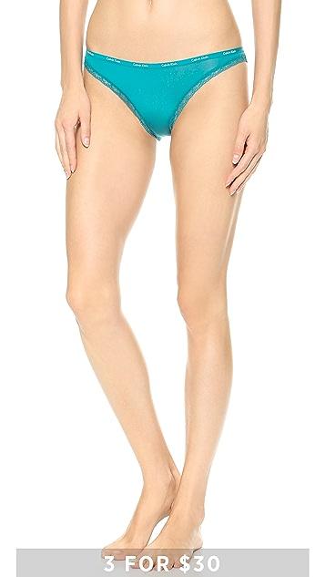 Calvin Klein Underwear Bottoms Up Bikini