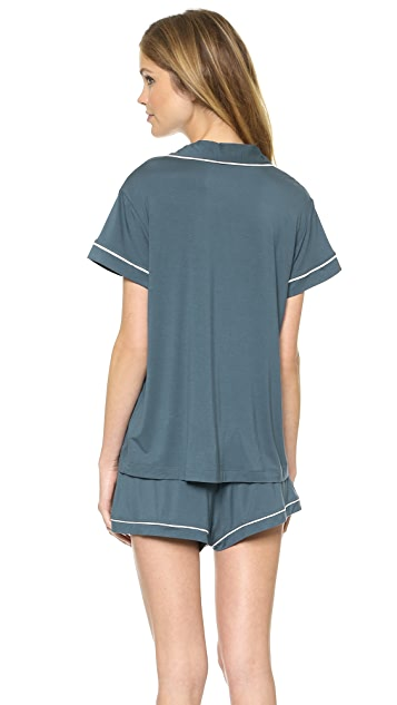 Calvin Klein Underwear Structure Short Sleeve PJ Top