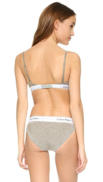 f4de4ac77b ... Calvin Klein Underwear Modern Cotton T-Shirt Bra ...