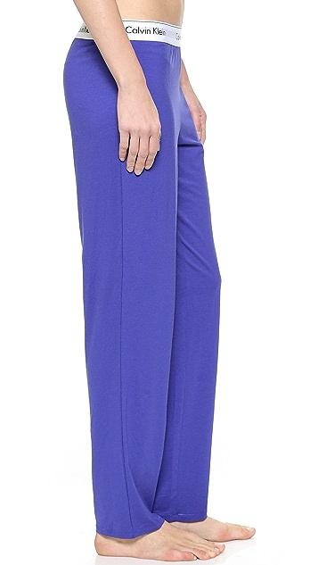 Calvin Klein Underwear Современные широкие брюки из хлопка